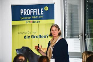 HR-Kompetenzforum 2018 in Ulm im Bantleonforum von PROFFILE und MAROLD Personalberatung, -sprecherin von Baker Tilly Roelfs