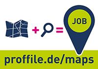 Die erste interaktive Arbeitgeber- und Jobkarte