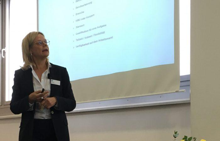 Ingrid Marold auf FOM Frauenforum Stuttgart